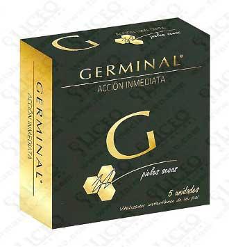 GERMINAL ACCIÓN INMEDIATA PIEL SECA 5 AMPOLLAS 1,5 ML