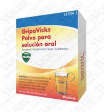 GRIPAVICKS 10 SOBRES POLVO SOLUCION ORAL