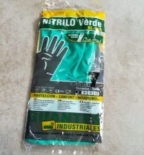 GUANTES BEHOLI NITRILO INDUSTRIAL T-7