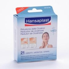 HANSAPLAST REDUCTOR DE CICATRICES 68 MM X 38 MM 21 U