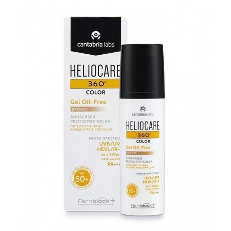HELIOCARE 360 COLOR SPF50+ GEL OIL FREE BRONZE 50 ML