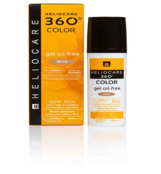 HELIOCARE 360º SPF 50+ COLOR GEL OIL-FREE PROTEC BEIGE 50 ML