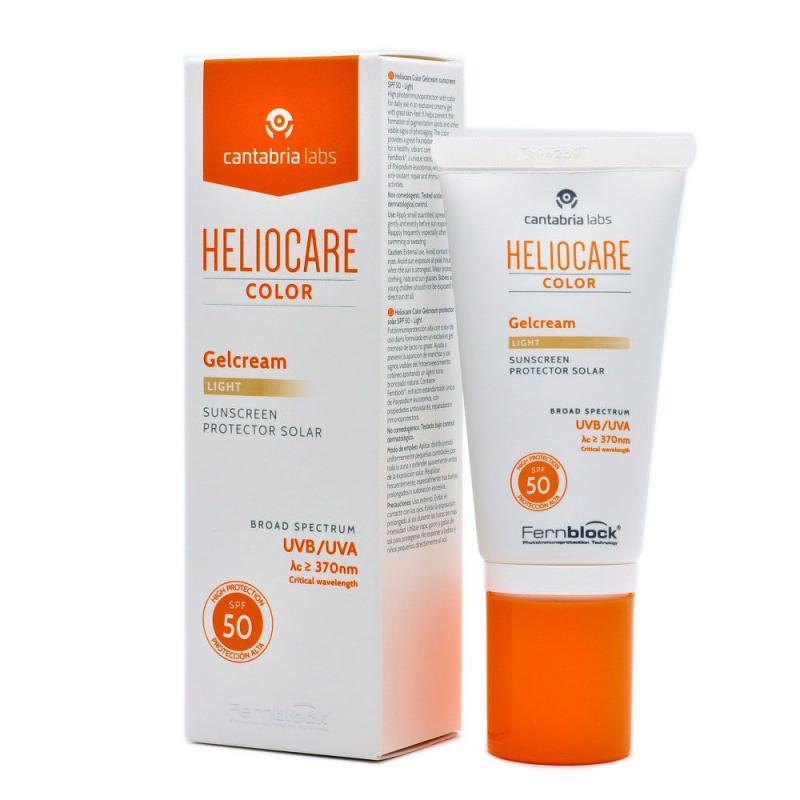 HELIOCARE COLOR GELCREAM SPF 50 LIGHT 50 ML