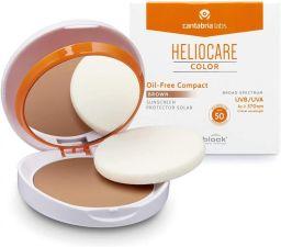 HELIOCARE COMPACTO OIL FREE SPF 50  COLOR BROWN 10 GR