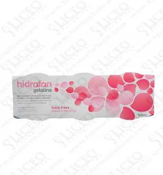 HIDRAFAN GELATINA 125 ML 3 UNIDADES FRESA