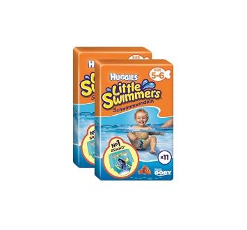 HUGGIES LITTLE SWIMMERS T5-T6 11U