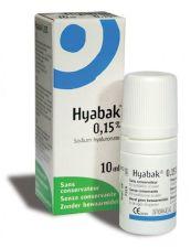 HYABAK 0.15% SOLUCION HIDRATANTE LENTES DE CONTA