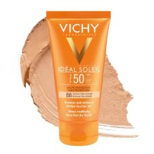 IDEAL SOLEIL TACTO SECO ROSTRO IP50+  +AS100ML