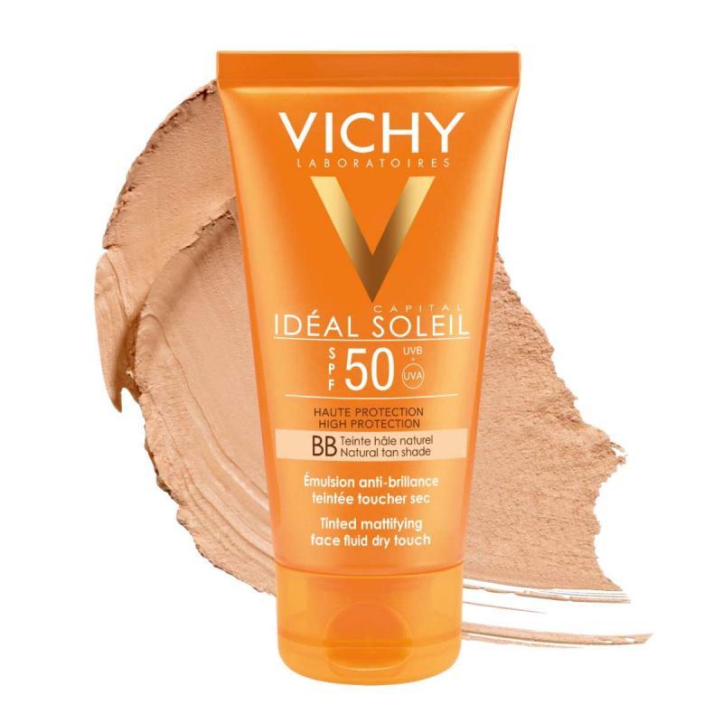 VICHY IDEAL SOLEIL TACTO SECO IP50+ 50 ML