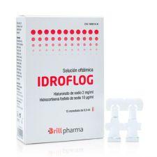 IDROFLOG SOLUCION OFTALMICA 15 MONODOSIS 0,5 ML
