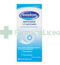 INISTON ANTITUSIVO 1.5 MG/ML JARABE 200 ML