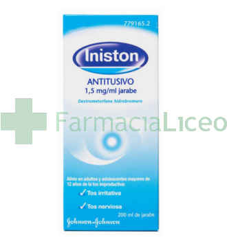 INISTON ANTITUSIVO 7.5 MG/5 ML JARABE 200 ML