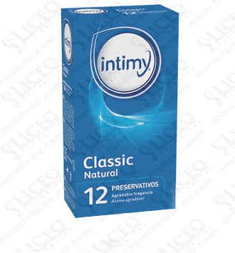 INTIMY CLASSIC NATURAL PRESERVATIVOS 12 PRESERVA