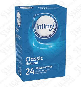 INTIMY CLASSIC NATURAL PRESERVATIVOS 24 PRESERVA