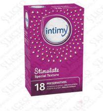 INTIMY STIMULATE SPECIAL TEXTURE PRESERVATIVOS 1