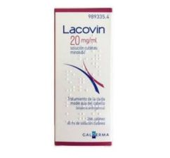 LACOVIN 20 MG/ML SOLUCION CUTANEA 1 FRASCO 60 ML