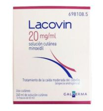 LACOVIN 20 MG/ML SOLUCION CUTANEA 4 FRASCOS 60 M