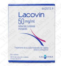LACOVIN 50 MG/ML SOLUCION CUTANEA 2 FRASCOS 60 M