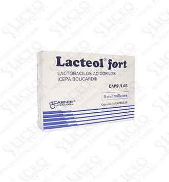 LACTEOL 10 CAPSULAS