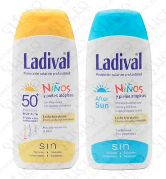 LADIVAL NIÑOS 50+ 200 ML DUPLO AFTER SUN NIÑOS 200 ML