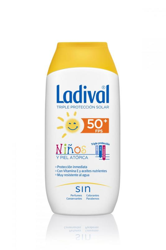 LADIVAL NIÑOS FOTOPROTECTOR FPS 50+ MUY ALTA LECHE SOLAR 200 ML