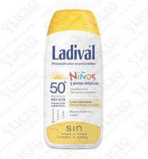 LADIVAL NIÑOS FOTOPROTECTOR FPS 50+LECHE HIDRATA