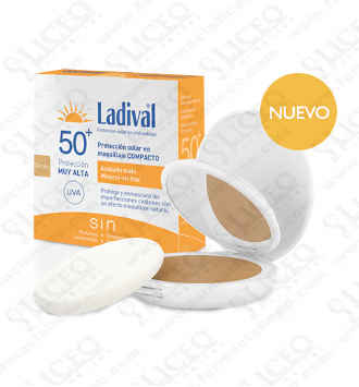 LADIVAL PROTECTOR SOLAR FPS 50+ MAQUILLAJE COMPA
