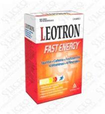 LEOTRON FAST ENERGY SOBRES BUCODISPERSABLES 10 S