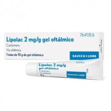 LIPOLAC 2 MG/G GEL OFTALMICO 10 G