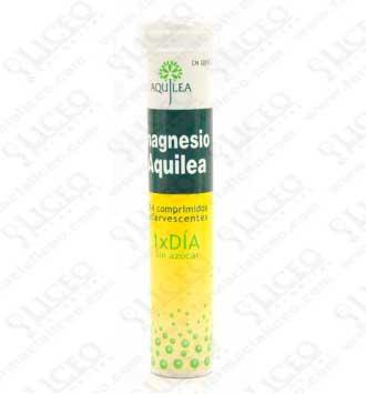 MAGNESIO AQUILEA EFERVESCENTE 300 MG 14 COMPRIMIDOS EFERVESCENTES