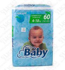 MAYBABY PAÑAL INFANTIL TUMBADO 60 U