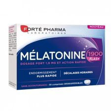 MELATONINA FLASH 1900 30 COMPRIMIDOS BUCODISPERS