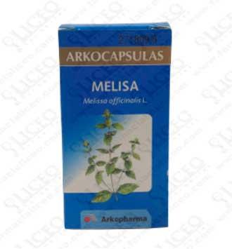 MELISA ARKOCAPSULAS 275 MG 50 CÁPSULAS