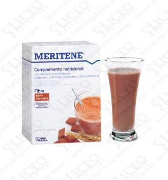 MERITENE FIBRA 35 GR 14 UNIDADES CHOCOLATE