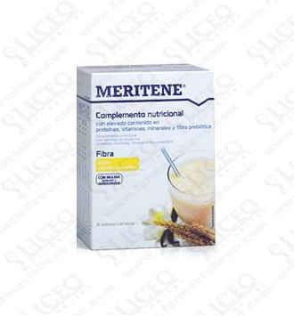 MERITENE FIBRA 35 GR 14 SOBRES VAINILLA