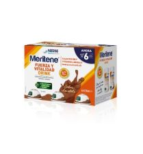 MERITENE FUERZA Y VITALIDAD DRINK PACK CHOCOLATE 6x125ML