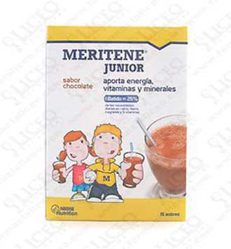 MERITENE JUNIOR 30 GR 15 SOBRES CHOCOLATE