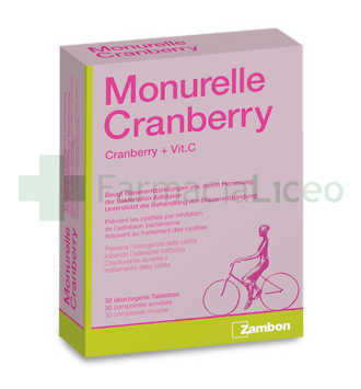 MONURELLE CRANBERRY 30 COMPRIMIDOS