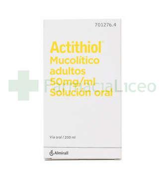 ACTITHIOL MUCOLITICO ADULTOS 50 MG/ML SOLUCION O