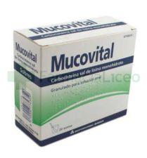 MUCOVITAL 2.7 G 20 SOBRES GRANULADO SOLUCION ORA