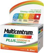 MULTICENTRUM PLUS GINSE/GINKGO