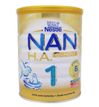 NESTLE NAN 1 EXPERT EXCEL LECHE HIPOALERGENICA 800 GR