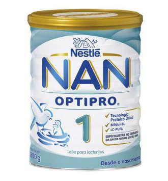 NESTLE NAN 1 OPTIPRO LECHE LACTANTES 800 GR
