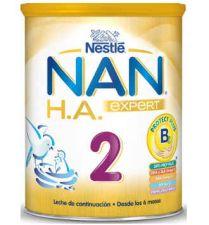 NAN 2 EXCEL LECHE LACTANTES CONTINUACION HIPOALE