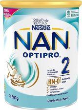NAN 2  OPTIPRO LECHE LACTANTES DE CONTINUACION 800 G