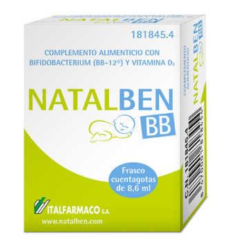 NATALBEN BB FRASCO 8,6 ML