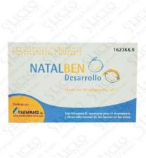NATALBEN DESARROLLO 30 CAPS SNIP-OFF
