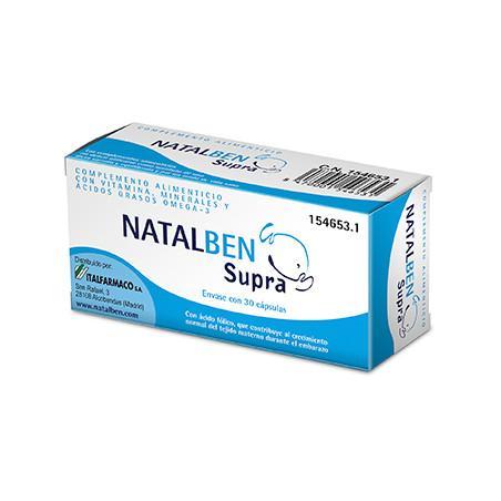 NATALBEN SUPRA 30 CÁPSULAS