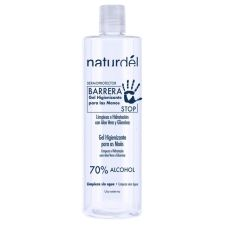 NATURDEL GEL HIGIENIZANTE MANOS BOT PET 500 ML