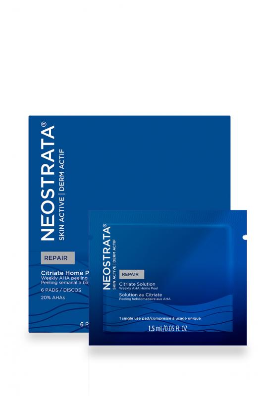 NEOSTRATA SKIN ACTIVE REPAIR CITRIATE HOME PEELING SYSTEM 6 DISCOS